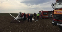 Pilotul avionului care a aterizat forţat în Alba sâmbătă a murit