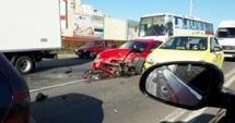 Şoferul care a produs accidentul de la Doraly a fugit de poliţie!