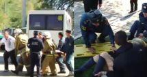 GALERIE FOTO / Atac cu bombă și arme automate la un colegiu din Crimeea. 18 morți, zeci de răniți