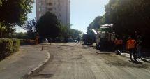 Primăria continuă reabilitarea străzilor din oraș