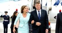 Președintele Iohannis și soția sa se �nt�lnesc cu militarii din Afganistan