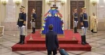 Cea mai emoționantă fotografie de la catafalcul regelui Mihai