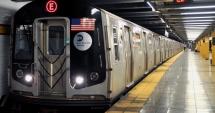 O garnitură de metrou a deraiat la New York
