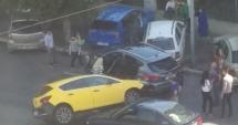 Galerie foto. GRAV ACCIDENT RUTIER PE BULEVARDUL MAMAIA. TREI MAŞINI, FĂCUTE PRAF!