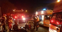 COPIL DE UN AN, ACCIDENTAT GRAV de un şofer care a fugit de la locul faptei