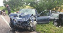 Accident rutier grav!  Cinci persoane au fost rănite. Intervin două elicoptere SMURD
