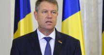 Preşedintele Klaus Iohannis, declaraţie de presă la ora 18.00