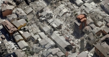 VIDEO dron�. A�a arat� ora�ul Amatrice dup� cutremurul din 24 august