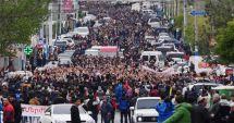 Armenia / Zeci de persoane arestate la Erevan în cea de-a zecea zi de proteste