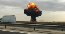 Tragedie aviatică. Un F-18 s-a prăbuşit! Pilotul şi-a pierdut viaţa