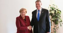 GALERIE FOTO / Klaus Iohannis, întrevedere cu Angela Merkel