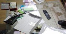PESTE 200.000 DE EURO INDISPONIBILAȚI DE LA PERSOANE BĂNUITE DE CAMĂTĂ