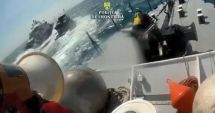 VIDEO EXPLOZIV / Momentul în care poliţiştii de frontieră ÎI ÎMPUŞCĂ pe braconierii turci