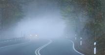 Pleci la drum? Este cod galben de ceaţă în 12 judeţe