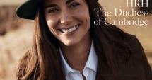 Kate Middleton, pe coperta VOGUE 100 de ani