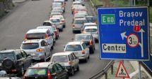 Minivacanța de Rusalii: Coloană de maşini de 6 km pe DN 1