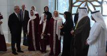 Viorica Dăncilă, îmbrăcată în haine islamice la Moescheea Sheikh Zayed din Abu Dhabi