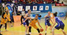 GALERIE FOTO / CS Phoenix Constanţa a suferit prima înfrângere pe teren propriu în faţa CSU CSM Oradea