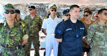 DISPOZITIVE EXPLOZIVE în apele Mării Negre / Portul Constanţa, luat cu asalt de sute de marinari militari