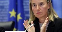 Mogherini: Preluarea controlului de către regimul sirian la Alep nu va pune capăt războiului din Siria