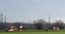 ACCIDENT AVIATIC: Coliziune între un elicopter de salvare şi un avion. Mai mulţi morţi!