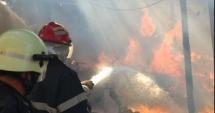Incendiul izbucnit la groapa de gunoi Glina din Capitală a fost stins. Flăcările au afectat o suprafaţă de 6.000 mp