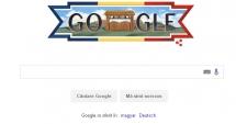 Ziua Naţională a României, marcată de Google printr-un logo special