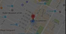 Veşti grozave pentru şoferi! Google Maps ne spune unde am parcat maşina