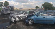 Accident rutier la Hârşova. Două maşini au fost avariate