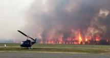 ACCIDENT AVIATIC: Un avion a intrat în coliziune în zbor cu un elicopter, în apropiere de Londra. Ultimul bilanţ: patru morţi