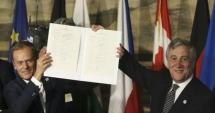 După 60 de ani, liderii UE își reînnoiesc la Roma angajamentul european