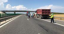 Tragedie pe A4. Șofer lovit mortal, după ce a vrut să ajute alți șoferi cu pană la mașini