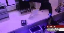 VIDEO. JAF ARMAT ÎNTR-O BANCĂ! Primele imagini video