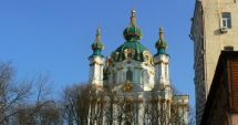 Ucraina: Mai multe cocktailuri Molotov au fost aruncate în Biserica Sfântul Andrei din Kiev
