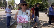 Protest la Palatul Cotroceni pentru eliberarea lui Dragnea din închisoare
