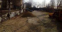 FOTO. Locuri noi de parcare pe strada Unirii din Constanţa