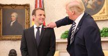 Donald Trump revine: Trebuie să-l facem perfect pe Emmanuel Macron