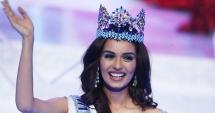 FOTO / O studentă la medicină, din India, a câştigat titlul Miss Univers