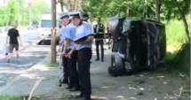 Pietoni spulberaţi de o maşină: Şase persoane rănite
