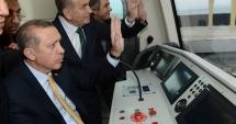 Prima linie de metrou automată din Istanbul, inaugurată de Erdogan