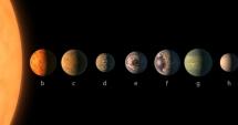 Anunț istoric: NASA a descoperit planete locuibile, de mărimea Terrei, la 40 de ani lumină de Soare