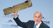 Netanyahu a venit la München cu o bucată dintr-o dronă iraniană