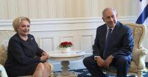 Netanyahu: O felicit pe prietena mea, Viorica Dăncilă, pentru anunţul privind mutarea ambasadei la Ierusalim
