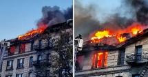 INCENDIU puternic în New York. Peste 200 de pompieri au intervenit