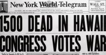 Statele Unite / Au trecut 75 de ani de la atacul kamikaze asupra Pearl Harbor