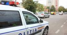 Femeia beată, care a furat un autoturism și a făcut accident, prinsă de polițiști