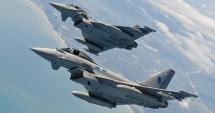Avion Eurofighter prăbuşit în Italia