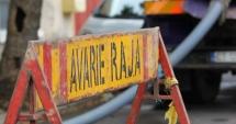 Avarie RAJA. A fost blocat traficul pe strada Rândunelelor din Năvodari