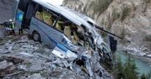 Coliziune frontală între două autobuze. 13 morți și 34 de răniți