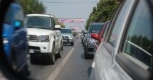 Atenţie, constănţeni! Trafic îngreunat pe strada Nicolae Iorga. Se lucrează la o conductă de apă